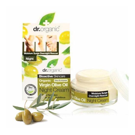 Dr. Organic Bio olíva éjszakai arcápoló