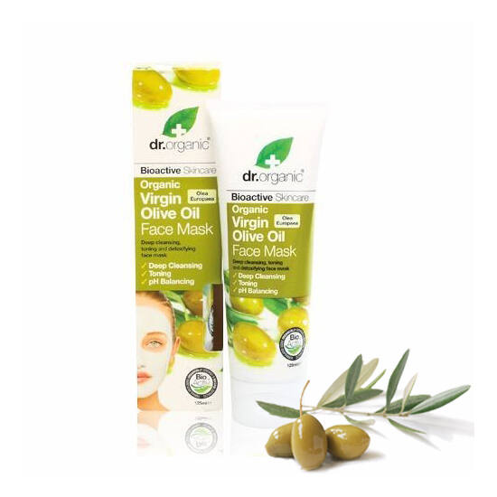 Dr. Organic Bio olíva arcpakolás