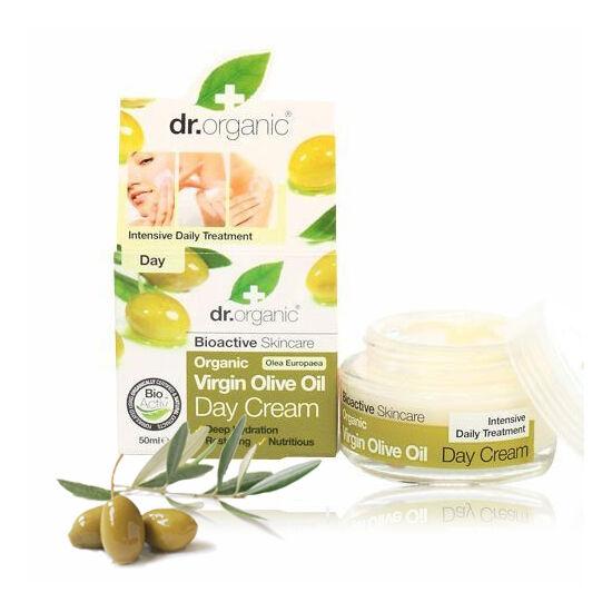 Dr. Organic Bio olíva nappali arcápoló