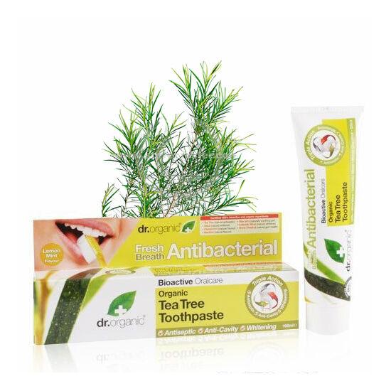 Dr. Organic Bio teafaolaj fogkrém
