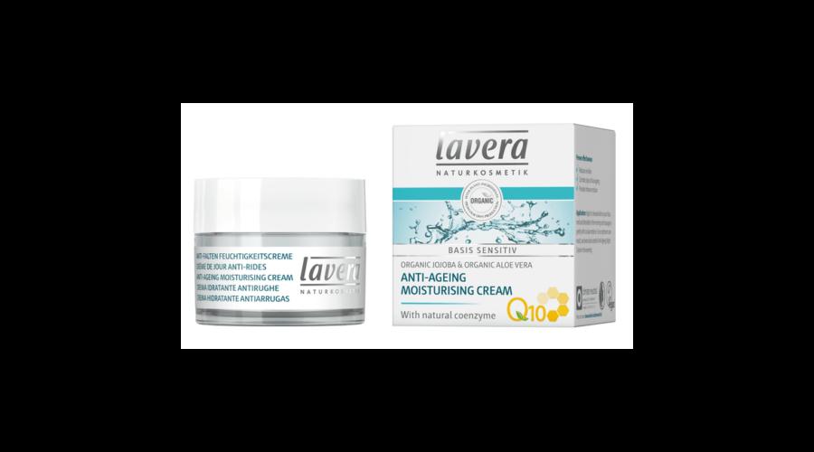 Lavera Basis Sensitive Öregedésgátló nappali arckrém