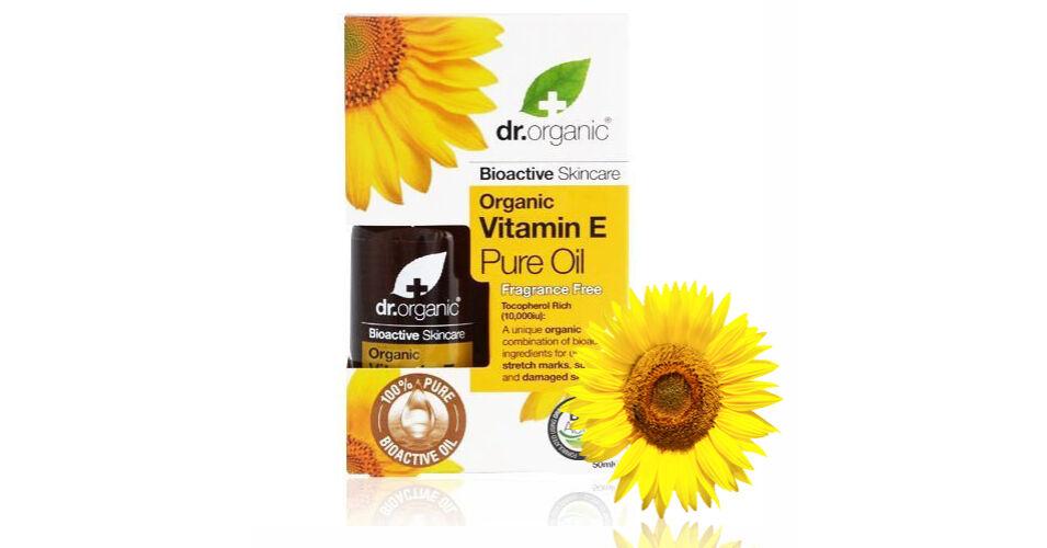Dr. Organic Bio természetes E- vitamin olaj